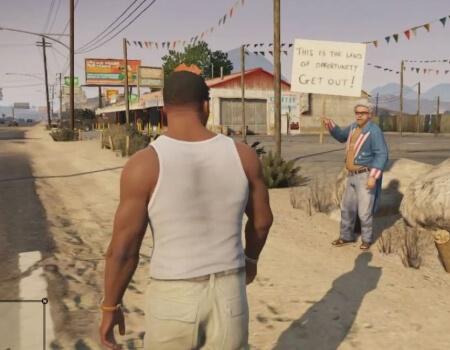 Grand Theft Auto 5 Pedestrian Fights