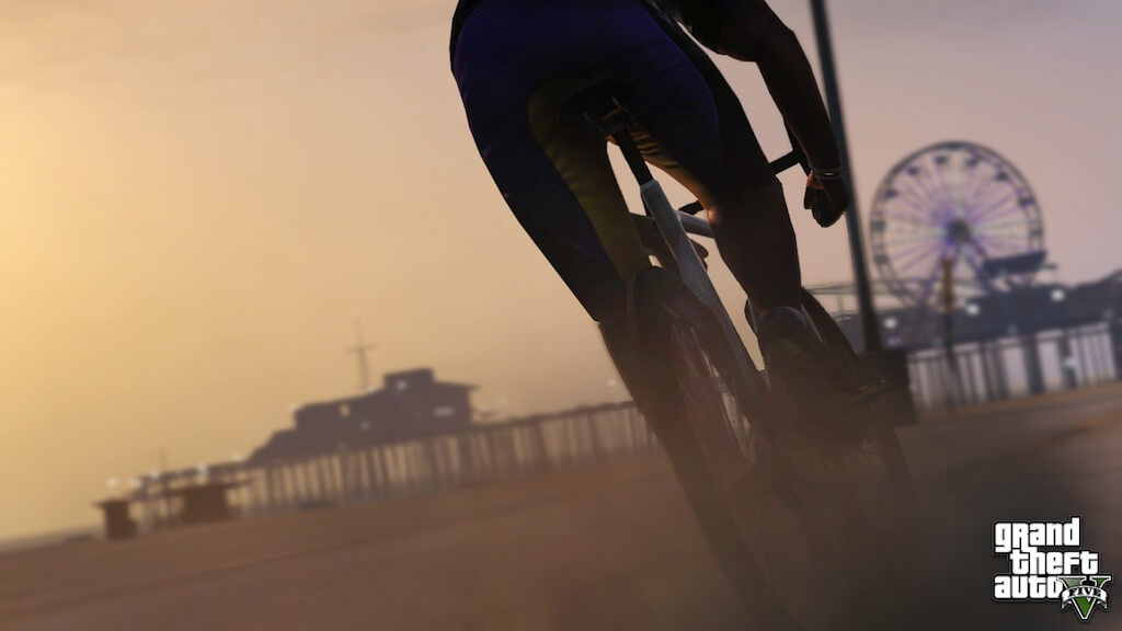 'Grand Theft Auto 5' Screenshots: Take a Bike Tour of Los Santos