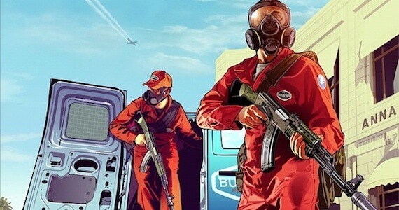 First 'Grand Theft Auto 5' Promo Art Revealed