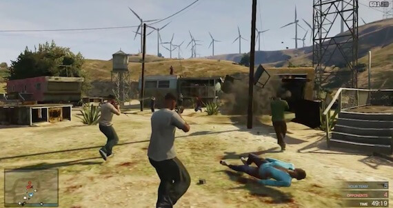 Grand Theft Auto Online - Competitive Mode