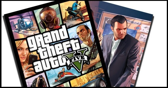 Grand Theft Auto double sided poster