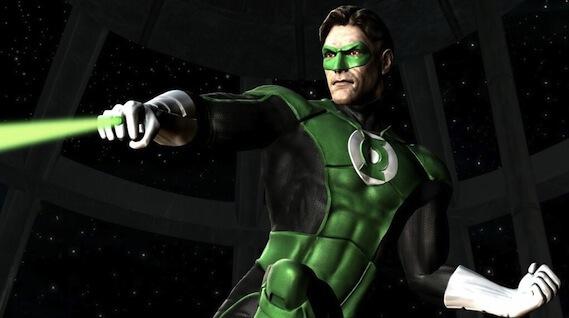 Green Lantern Mortal Kombat Xbox Exclusive