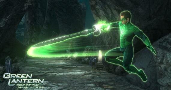 Green Lantern Rise of the Manhunters Screenshots