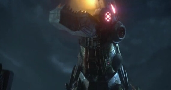 Me Grimlock in 'Transformers: Fall of Cybertron' VGA Teaser Trailer