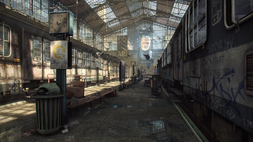 'Half-Life 2' City 17 Recreated by Fan in Unreal Engine 3