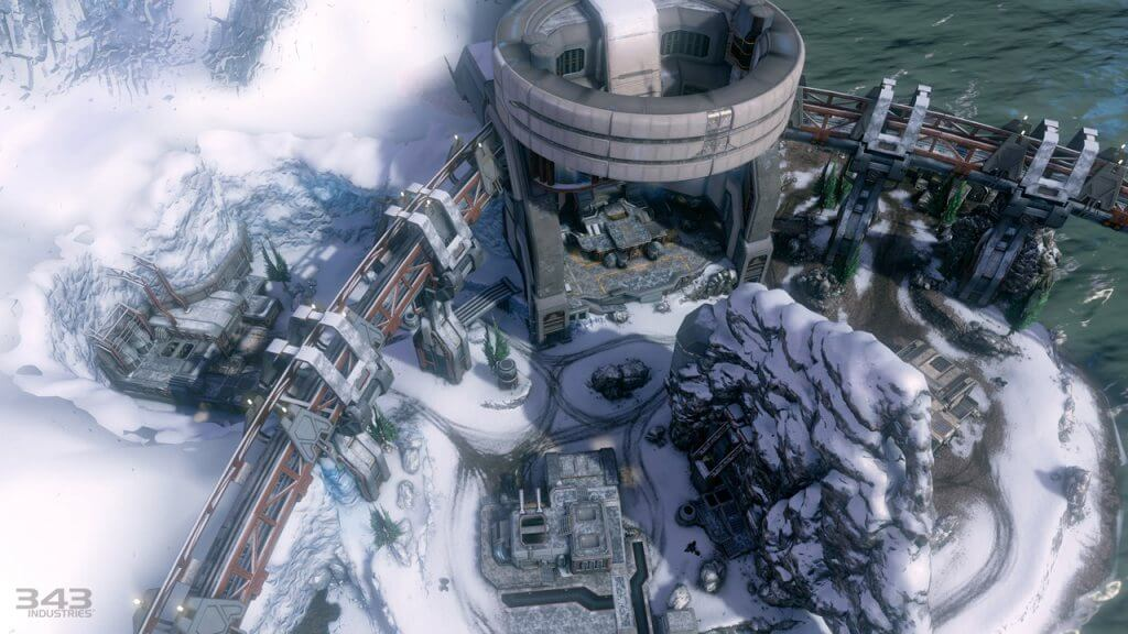 Halo 4: New 'Longbow' Map Images & Details