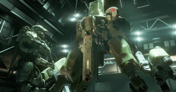 'Halo 4' Trailers Show Off Mantis Mechs, Promethean Weapons