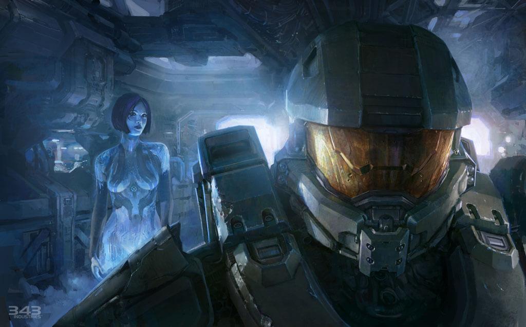 'Halo 4' Concept Art Blowout