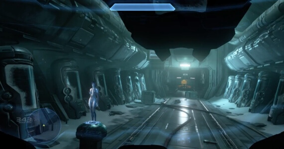 Halo 4 Master Chief View