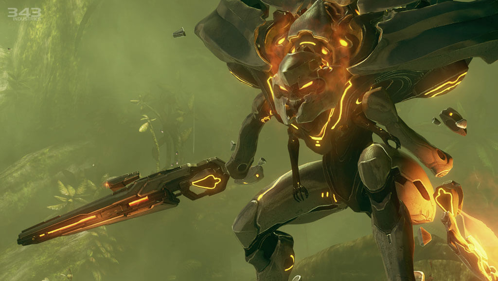 'Halo 4' Multiplayer Gameplay Footage Captures E3 Action