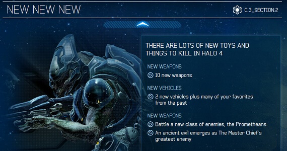 'Halo 4' Includes 50 Spartan Ops Missions, 10 New Maps and Weapons