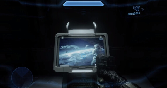 Halo 4 Service Record Easter Egg