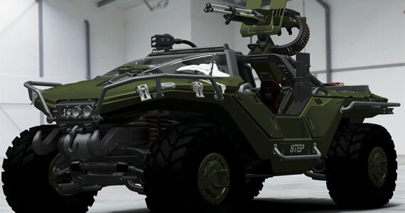 Halo 4 Warthog Shows up in Forza Motorsport 4