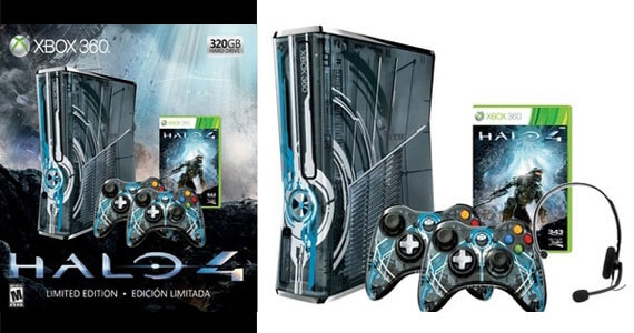 First Images of a 'Halo 4' Themed Xbox 360 Emerge