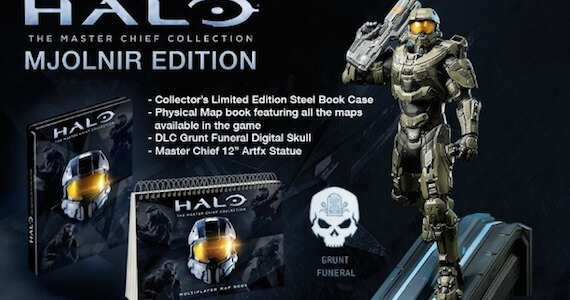 Halo: Master Chief Collection Mjolnir Edition Sold Out