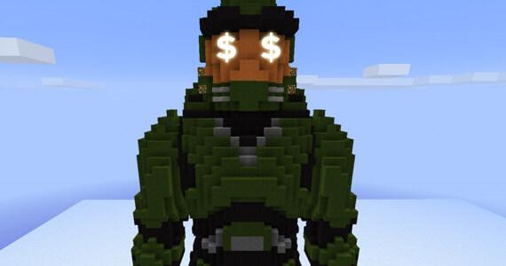 Halo Minecraft Sales Numbers