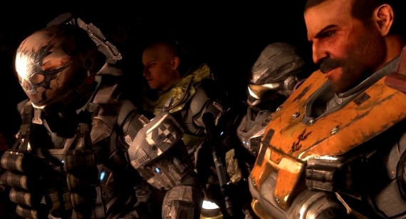 Halo Reach Characters Screenshot