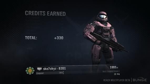 Halo Reach Rank List
