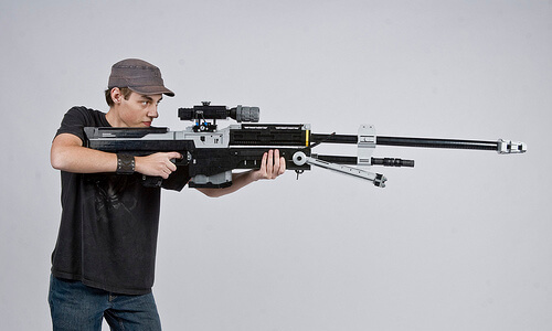 GR Pick: Life-Size 'Halo' Sniper Rifle Built With LEGO
