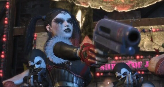 Harley Quinn DLC Batman Arkham City
