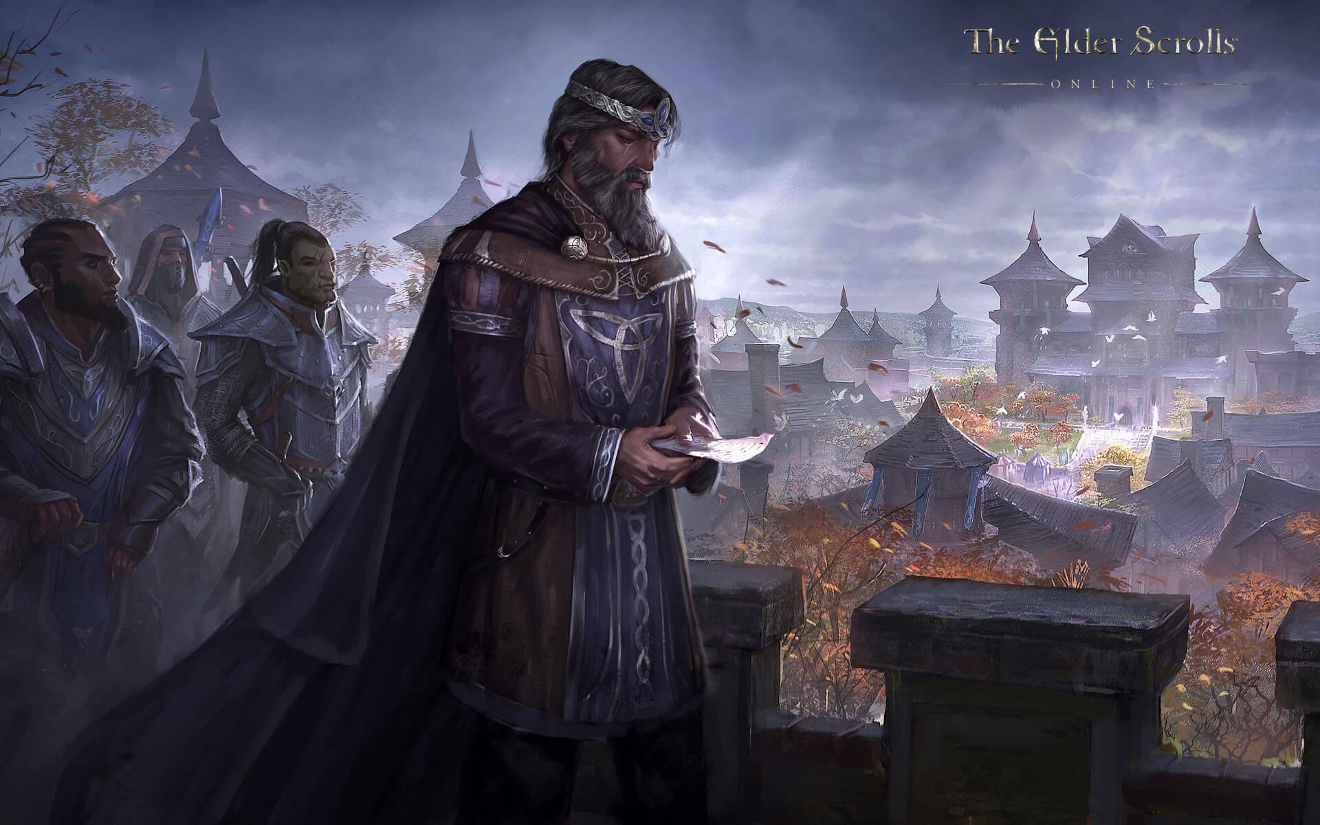 The Elder Scrolls Online: Meet High King Emeric, Leader of The Daggerfall Covenant