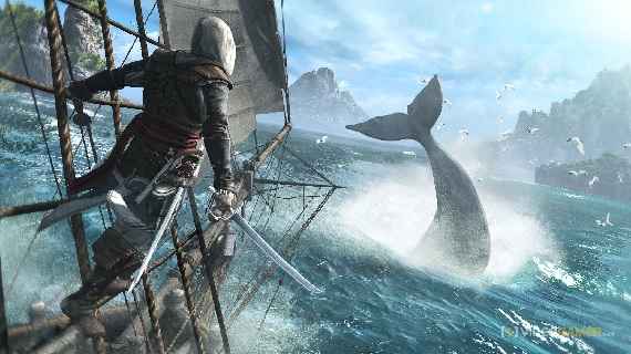 High seas adventures in Assassin's Creed IV: Black Flag