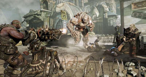 Gears of War At SDCC