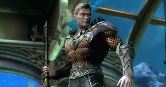 Aquaman 'Injustice: Gods Among Us' Gameplay Trailer; Ed Boon Teases More Characters