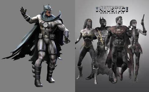 Injustice Gods Among Us Blackest Knight Pack Zombie Mode