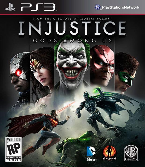 'Injustice: Gods Among Us' Cover Art Reveals Green Lantern & The Joker [Updated]