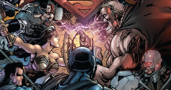 'Injustice: Gods Among Us' Prequel Comic Preview Released