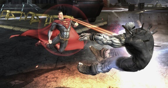 Injustice Gods Among Us Review - Level Transitions
