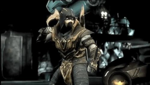 Injustice Scorpion Pose