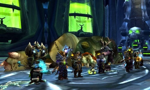 World of warcraft Instance group