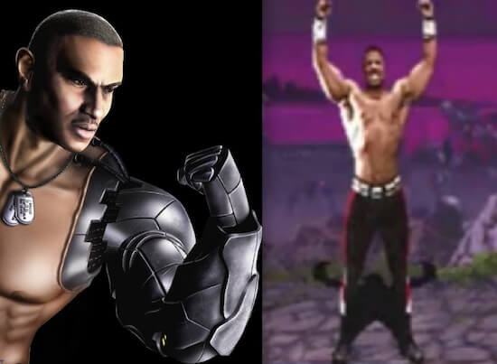 Jax in Mortal Kombat