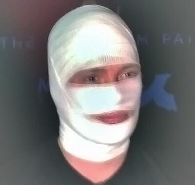 Joakim Mogren Bandage Face