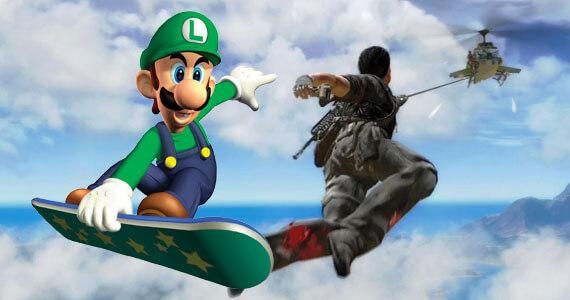 'Just Cause 2' & 'Super Mario Galaxy 2' Get Amazing Multiplayer Mods