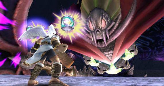 Kid Icarus: Uprising Boss Fight