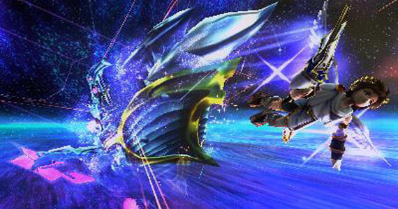 Kid Icarus: Uprising Space Pirate Battle