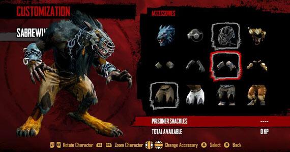 Killer Instinct Xbox One Customization