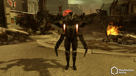 Killzone 3 Features PlayStation Home Integration with bonus unlocks