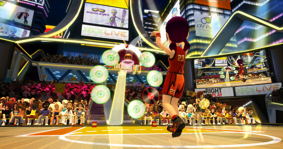 Kinect Sports 2 Basketball Challenge Pack Shot Party
