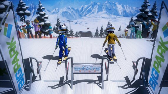 Kinect Sports Season Two Skiing (Review)
