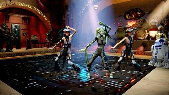 Kinect Star Wars Galactic Dance Off