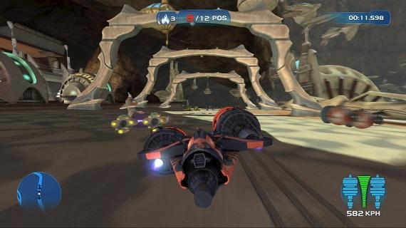 Kinect Star Wars Pod Racing
