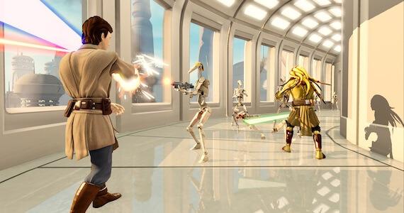 Kinect Star Wars Targeting Spring Release