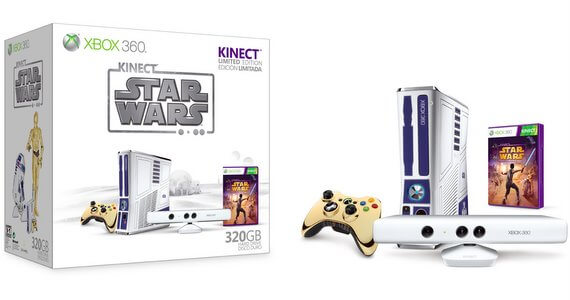 Xbox 360 Limited Edition 'Kinect Star Wars' Bundle