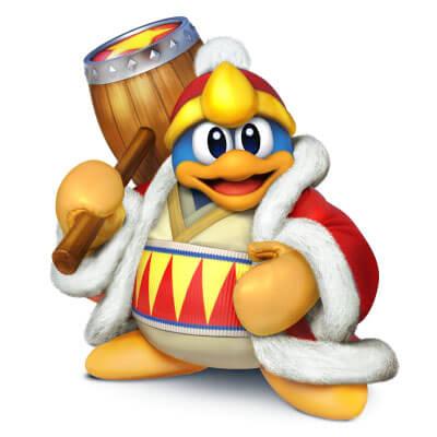 King Dedede Smash Bros Wii U Art