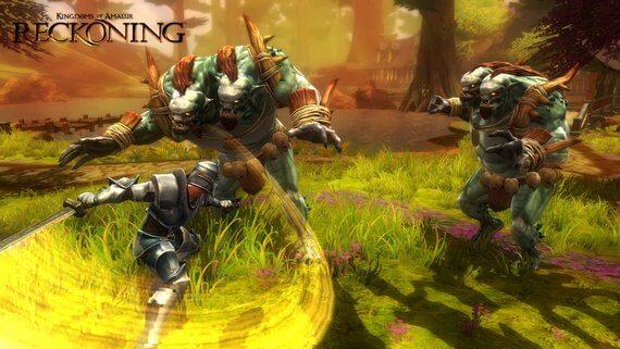 Kingdoms of Amalur Reckoning Combat