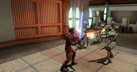 Knights of the Old Republic Screen